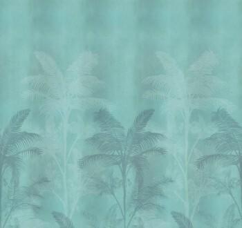 Grün-Blau Wandbild Palmen Tenue de Ville SAUDADE 62-SAUD211015