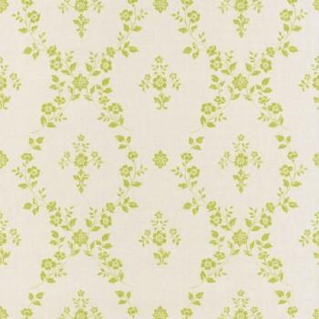 36-FAO69067013 Caselio - Faro Texdecor Tapete Blumenranke grün