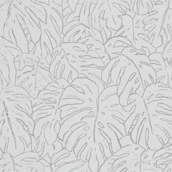 Blätter Tapete Beige Cremeweiß 62-SPI230325 Tenue de Ville SPICE