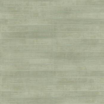 Vlies Tapete Hell-Grün Leder Optik Streifen Rasch Club 418484