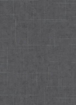 Vliestapete silber-schwarzes Muster 33-1000615 Fashion for Walls