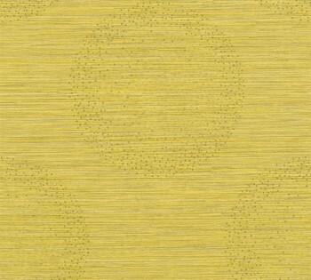 Vliestapete AS Creation Titanium 2 8-36005-4, 360054 Kreise senf-gelb