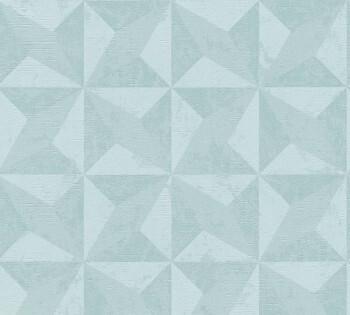 8-36001-4 Vliestapete Titanium 2 AS Creation grafisches Muster mint-blau