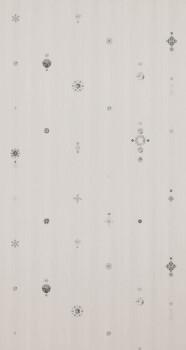 BN/Voca Neo Royal 12-218652 Tapete sand-grau Vlies Perlen Flur