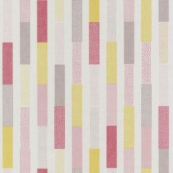 Caselio - Swing 36-SNG68894687 Texdecor pink-grün Streifentapete