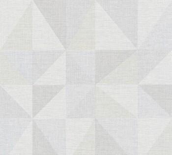 AS Creation Björn 35181-3, 351813 Dreiecke hell-blau grau Vlies Tapete