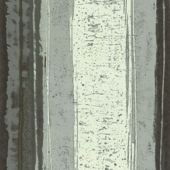 Tapete Streifen Abstrakt grau Casamance - Estampe 48-74040141