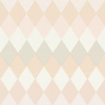 23-148680 Boho Chic Rasch Textil Tapete blassrosa kariert Muster