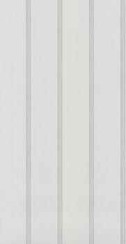 Streifentapete Weiß