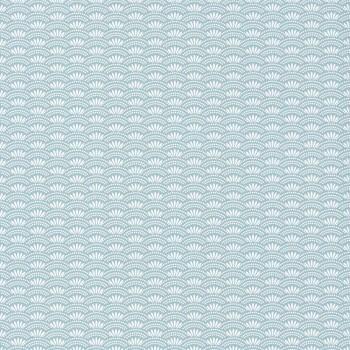 Muster Vliestapete Aquamarin
