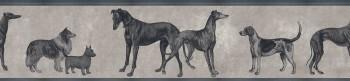 Tapete Hunde-Muster Beige Grau 62-ODED191915 Tenue de Ville ODE