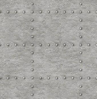 Rasch Textil Restored 23-024009 silber metallic Tapete Schrauben