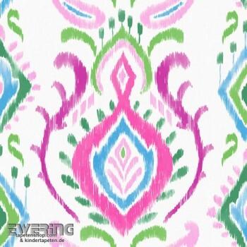 23-148648 Cabana Rasch Textil Verzierung Vliestapete matt bunt