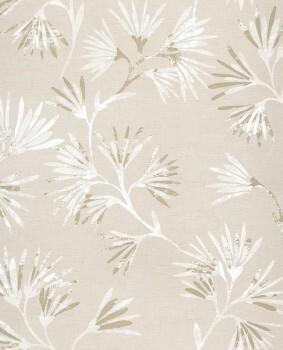 Eijffinger Enso 55-386540 Blumenmuster beige Vliestapete