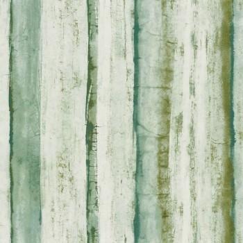 Tapete Abstrakt Hellgrün Casamance - Estampe 48-74050229