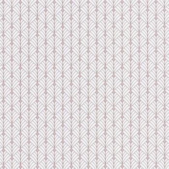 Caselio - Scarlett 36-SRL100434049 Texdecor grafisches Muster Vliestapete rose