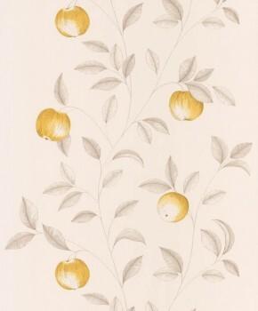 Texdecor Caselio - Bon Appetit 36-BAP68402020 Vlies Tapete gelb Äpfel