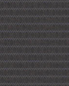 Eijffinger Lounge 55-388716 Muster blau dunkelbraun Vliestapete