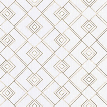 Caselio - Scarlett 36-SRL100471002 Texdecor grafisches Muster Vliestapete creme