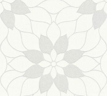 AS Creation Neue Bude 2.0 8-3617-07, 361707 Vlies Tapete Blumen creme Glitzer