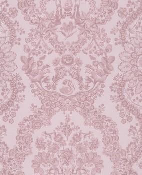 Eijffinger PIP Studio 55-375043, Vliestapete rose Blumenmuster