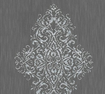 AS Creation Architects Paper Luxury Wallpaper 319454, 8-31945-4 Vliestapete grau silber