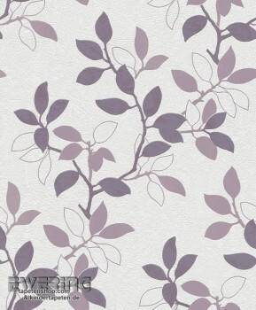 Rasch Home Vision 6 7-431438 Vlies-Tapete Blumenranken weiß