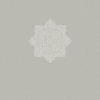 55-388900 Vliestapete Eijffinger Lounge Wandbild grau Mandala