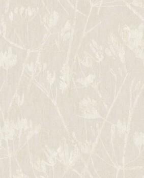 Eijffinger Lino 55-379050 Blumenmuster Vliestapete beige