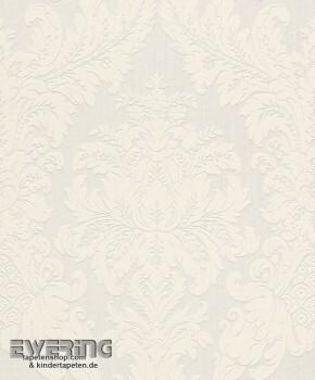 23-077277 Cassata Rasch Textil creme-weiß Ornament Textiltapete