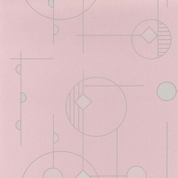 Tapete rosa grafisch Casadeco - Vision 36-VISI83664132
