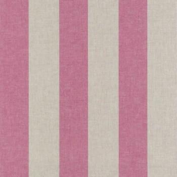 Texdecor 36-FAO69034014 Caselio - Faro pink Streifen-Tapete Vlies