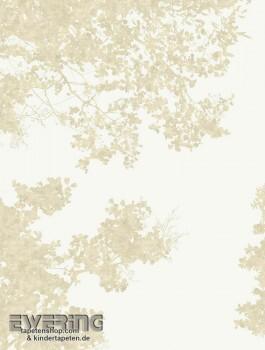 Texdecor Casadeco - Géode 36-GEO26891106 Äste Wandbild beige