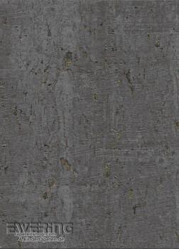 Rasch Textil Vista 5 23-213859 Kork-Tapete anthrazit Wohnzimmer
