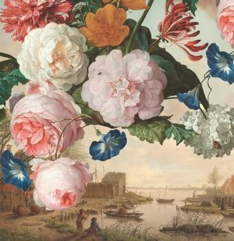 Eijffinger Masterpiece 55-358110, Vliestapete, Fototapete Blumen