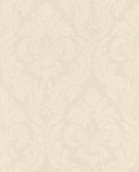 Rasch Textil Velluto 23-074955 Textiltapete beige Schlafzimmer Ornamente