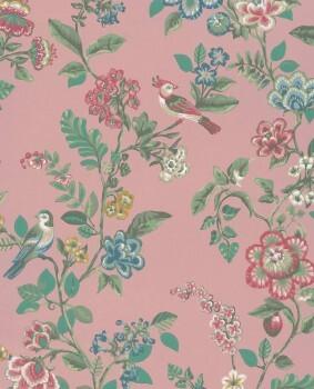 Eijffinger PIP Studio 55-375063, Vliestapete rosa Blumen
