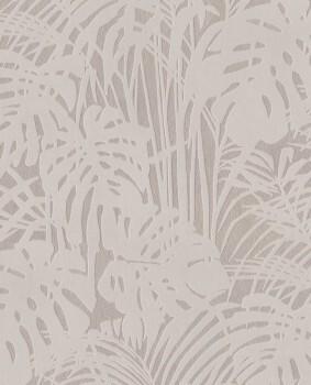 Eijffinger Reflect 55-378019 Vliestapete Gold Pflanzen Velour