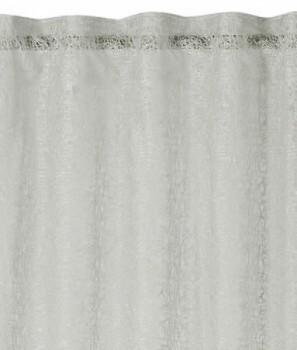 45-198992 Rasch home Fertigdeko Schlaufenband ecru glänzend