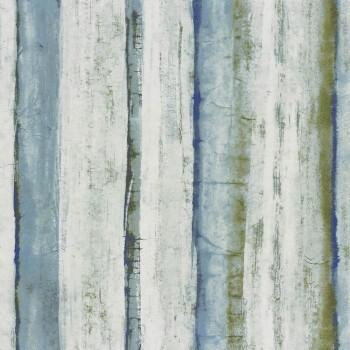 Tapete blau grün Abstrakt 48-74050327 Casamance - Estampe