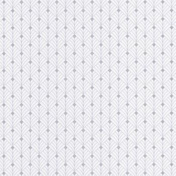 Texdecor Caselio - Scarlett 36-SRL100430099 Vliestapete grafisch silber weiß