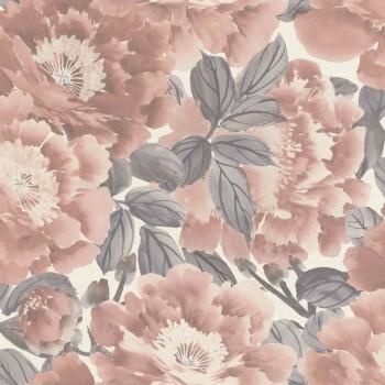 Tapete Vlies Blumen Pastell Rasch Kimono 408331