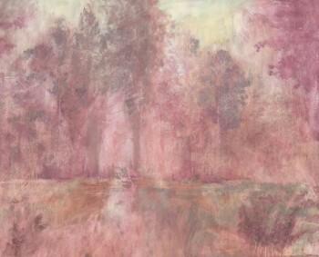 Wandbild Waschung Rot Muster 62-ODED191212 Tenue de Ville ODE
