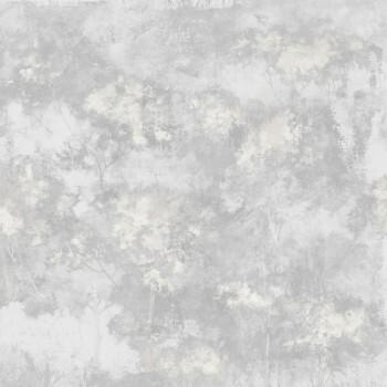 Wandbild Hellgrau Goldene Bäume