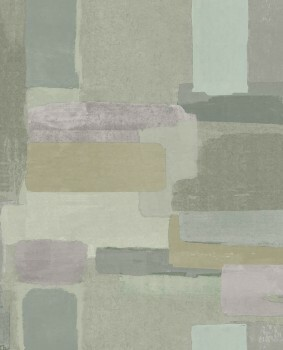 Eijffinger Lino 55-379062 Abstrakt Vliestapete grün Muster