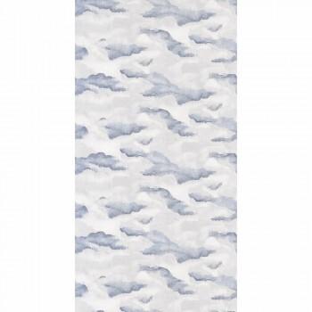 Tapete Vlies Wolken Blau