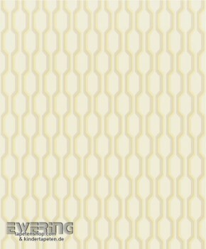 36-MDG26481139 Casadeco - Midnight 3 Texdecor creme Retro Tapete