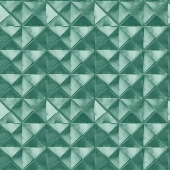 Grün Muster-Tapete 3D-Optik 62-BLS201002 Tenue de Ville BALSAM