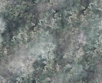 Wandbild Muster Grün Blau Vlies 62-ODED190609 Tenue de Ville ODE