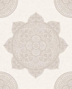 55-388781 Vliestapete Mandala rose kupfer Eijffinger Lounge